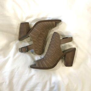 Jessica Simpson Leather Heeled Booties